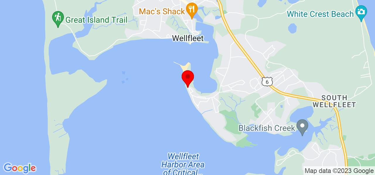 Google Map of205 Samoset Ave Wellfleet MA