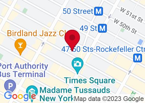 Lunt-Fontanne Theatre Google Maps Location