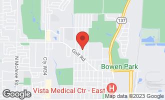 Map of 2051 Walnut Street WAUKEGAN, IL 60087
