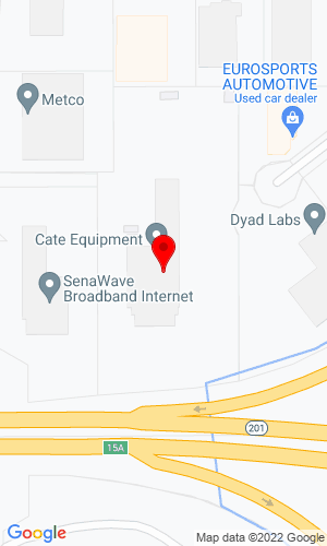 Google Map of Cate Equipment Company 2055 S Pioneer Road, Salt Lake City, UT, 84104