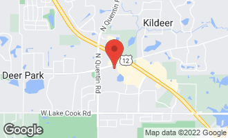 Map of 20610 North Westpark Place DEER PARK, IL 60010