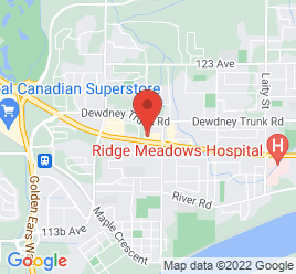 Google Map of 20611+Lougheed+Highway%2CMaple+Ridge%2CBritish+Columbia+V2X+2P9