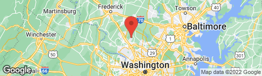 Map of 20626 HIGHLAND HALL DRIVE MONTGOMERY VILLAGE, MD 20886