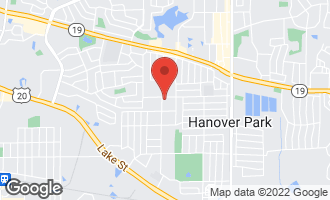 Map of 2063 Laurel Avenue HANOVER PARK, IL 60133