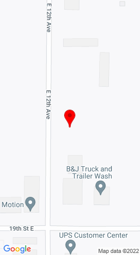 Google Map of H2 Equipment 2069 E 12th Avenue, Columbus, NE, 68601