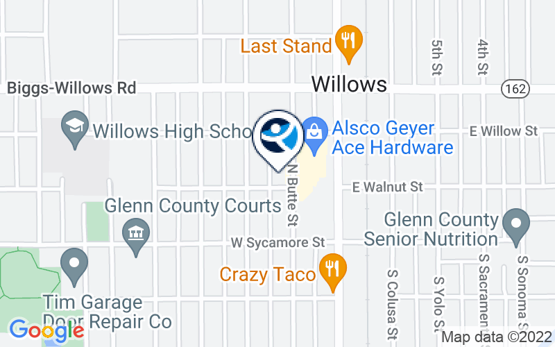 Northern Valley Indian Health - Willows Clinic Location and Directions
