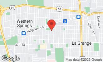 Map of 207 Leitch Avenue LA GRANGE, IL 60525