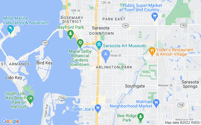 2071 Waldemere St Sarasota Florida 34239 locatior map