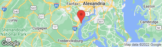 Map of 2074 ALDER LANE DUMFRIES, VA 22026