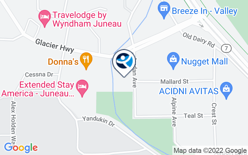 Juneau Youth Services Location and Directions