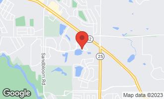 Map of 2081 Azure Lane ALGONQUIN, IL 60102