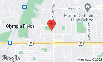 Map of 20820 Western Avenue OLYMPIA FIELDS, IL 60461