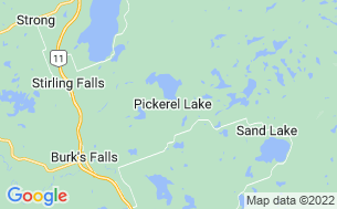 Map of Duins Pineridge Resort Campground