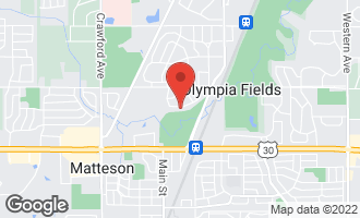 Map of 20844 Greenwood Drive OLYMPIA FIELDS, IL 60461