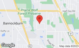 Map of 2086 Malory Lane HIGHLAND PARK, IL 60035