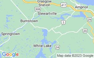 Map of White Lake RV Park