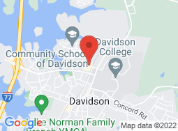Location of Davidson Community Players on a map