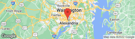 Map of 209 MYRTLE STREET W ALEXANDRIA, VA 22301