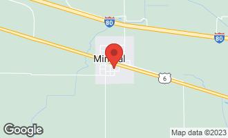 Map of 209 Oak Street MINERAL, IL 61344