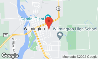 Map of 209 South East Street WILMINGTON, IL 60481