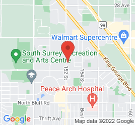 Google Map of 2092+152+street%2CSurrey%2CBritish+Columbia+V4A+4N8