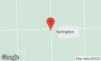 Map of 20976 North 3600 East Road KEMPTON, IL 60946