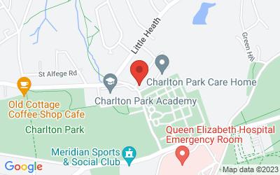 Map of  Charlton Park, SE7 8DZ