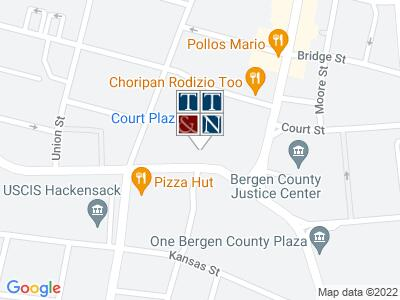 Bergen County Family Law Office Map
