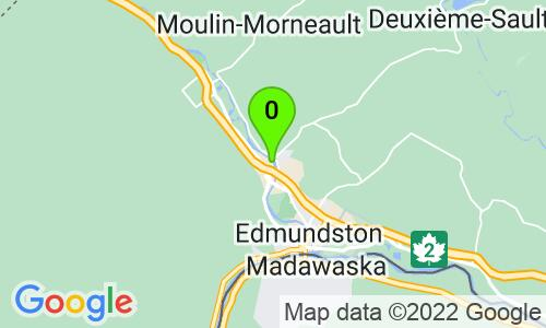 Carte du 21, rue Morneault, Edmundston, E3V 4J3, Nouveau-Brunswick
