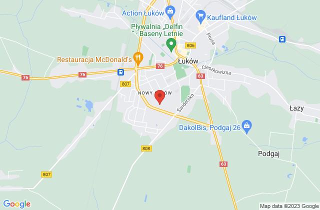 Wyświetl Sławomir Bojda,Little Cotton Shop na mapie