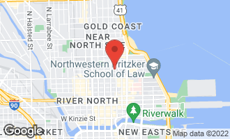 Map of 21 East Chestnut Street 21B CHICAGO, IL 60611