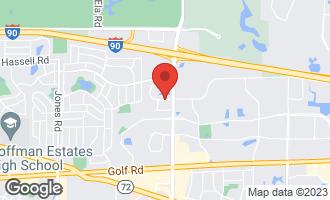 Map of 21 Kristin Drive #807 SCHAUMBURG, IL 60195
