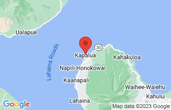 Map of Kapalua