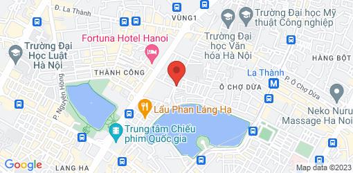 Directions to Tâm Chay Láng Hạ