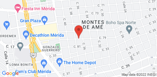 Directions to Monique's Bakery and Cafe de Alta Nutrición