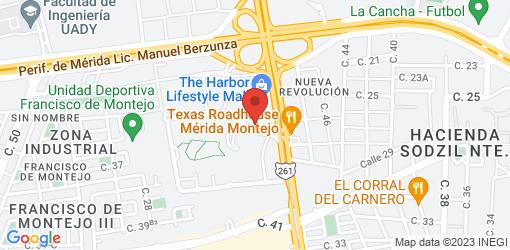 Directions to Porfirio's Mérida | Restaurante de comida mexicana