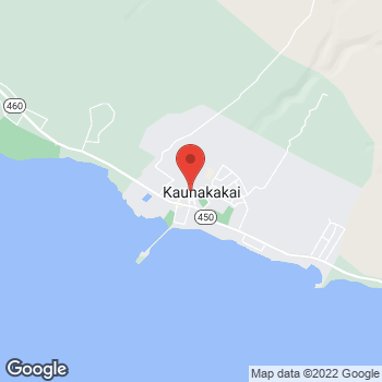 Map of Carquest Auto Parts at 93 Ala Malama Avenue #A, Kaunakakai, HI 96748