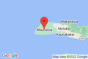 Map of Maunaloa