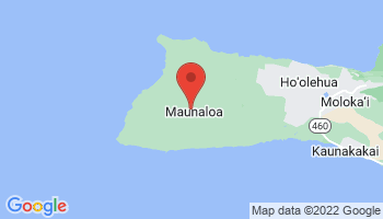 Map of Maunaloa