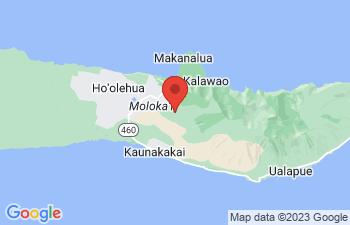 Map of Kaunakakai