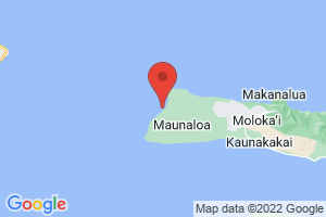 Map of Papohaku Beach
