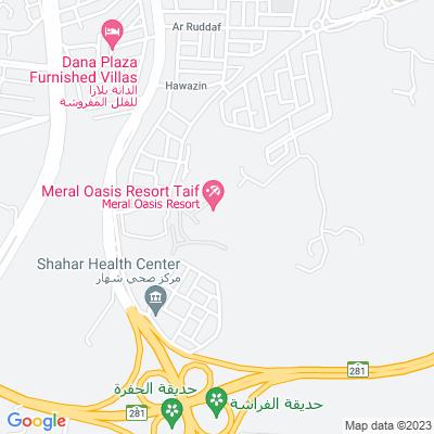 خريطة فندق منتجع واحة ميرال
