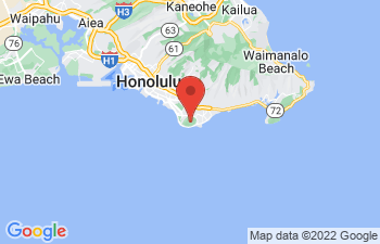 Map of Diamond Head