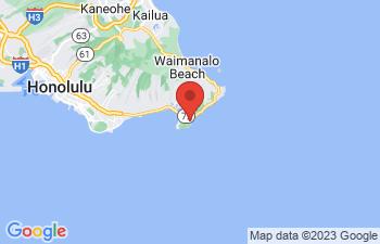 Map of Hanauma Bay