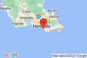 Map of Waikiki