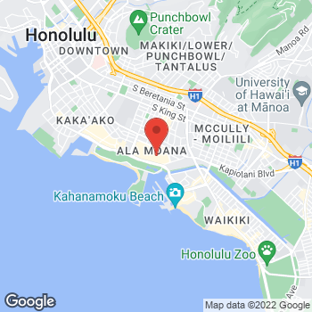 Map of Michael Kors at 1450 Ala Moana Blvd, Honolulu, HI 96814