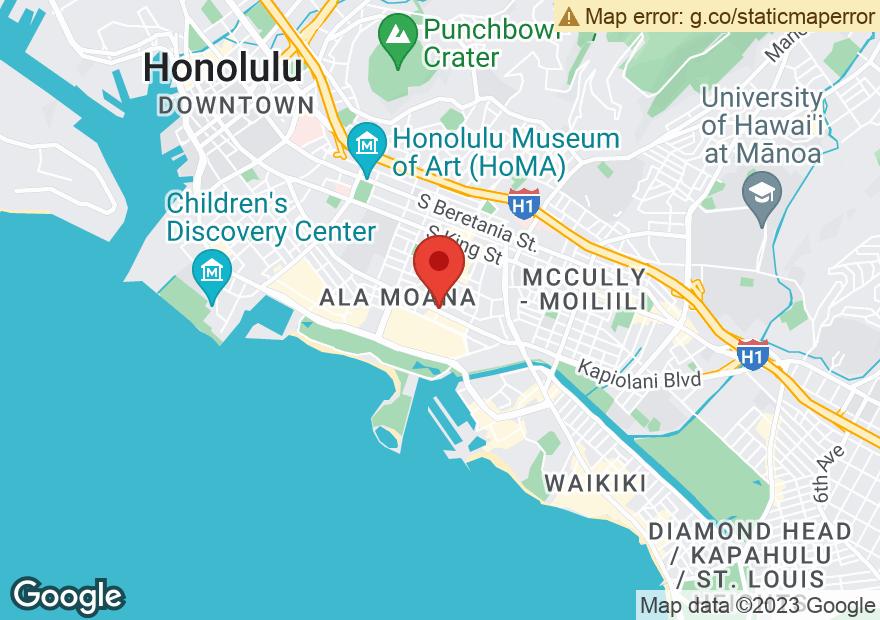 Google Map of 1488 KAPIOLANI BLVD