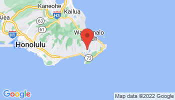 Map of Hawaii Kai