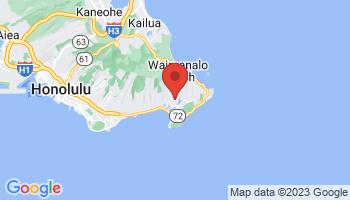 Map of Hawaii Kai