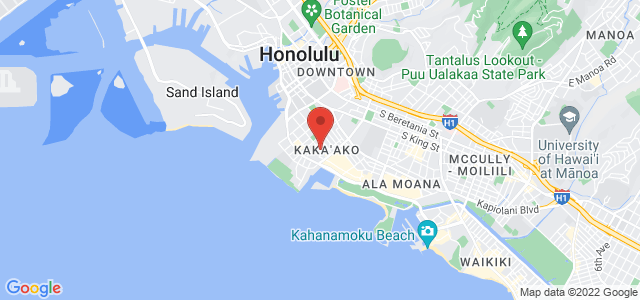 Honolulu Florist Map